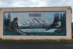 Valdez, dass Ende der Pipeline. Ein netter kleiner Ort