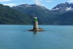 Schiffsjournal durch den Prince William Sound