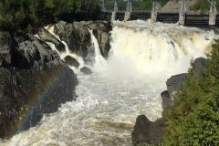 Die Grand Falls...unterwegs irgendwo